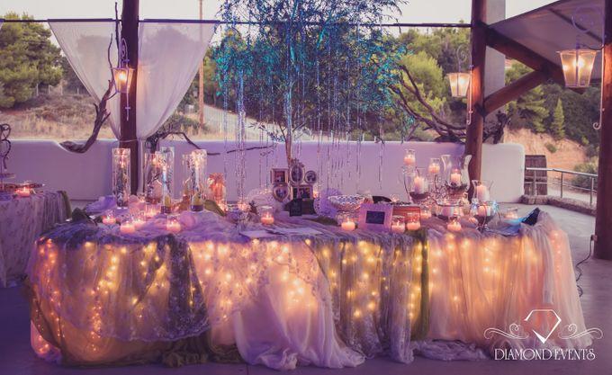 Romantic wedding in a vhapel by Diamond Events - 007