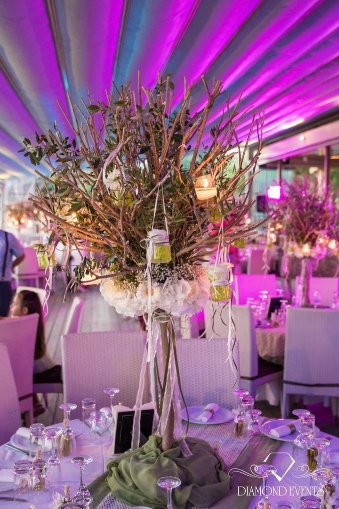 Romantic wedding in a vhapel by Diamond Events - 008