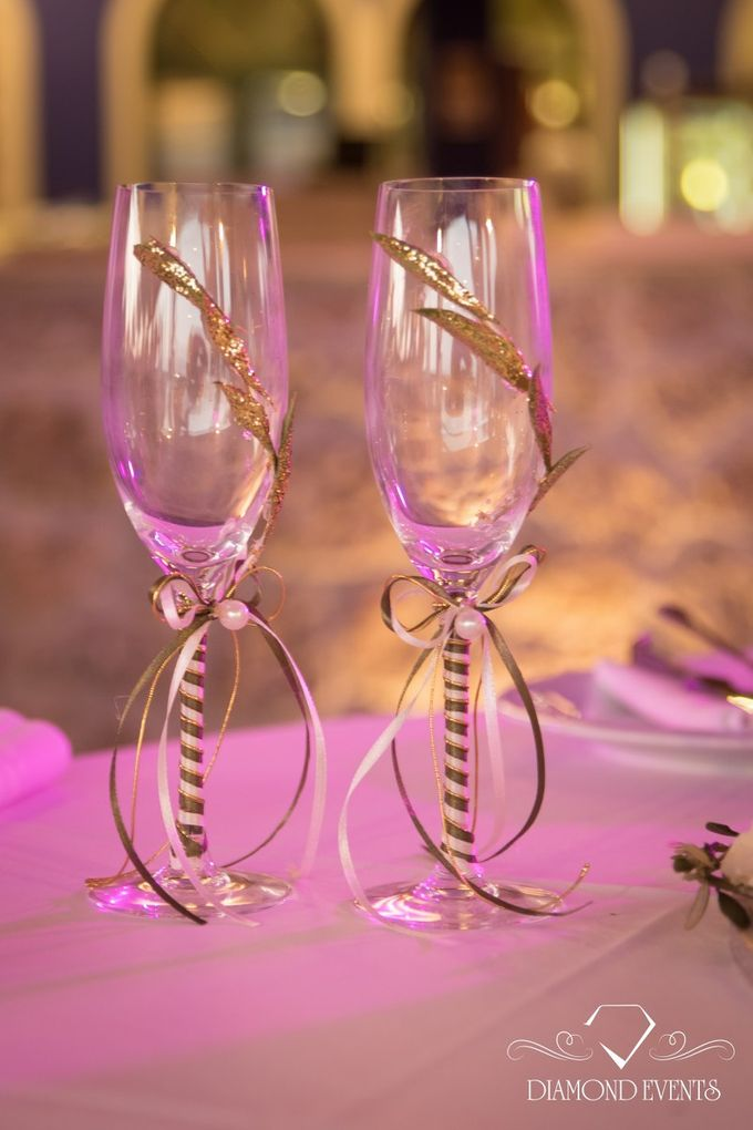 Romantic wedding in a vhapel by Diamond Events - 009