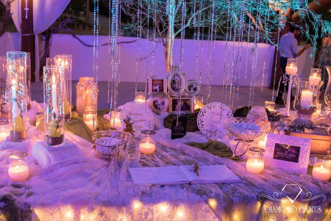 Romantic wedding in a vhapel by Diamond Events - 011