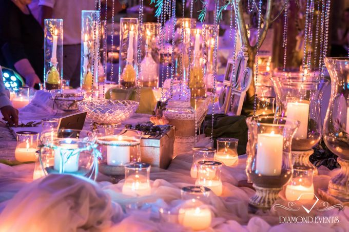 Romantic wedding in a vhapel by Diamond Events - 012
