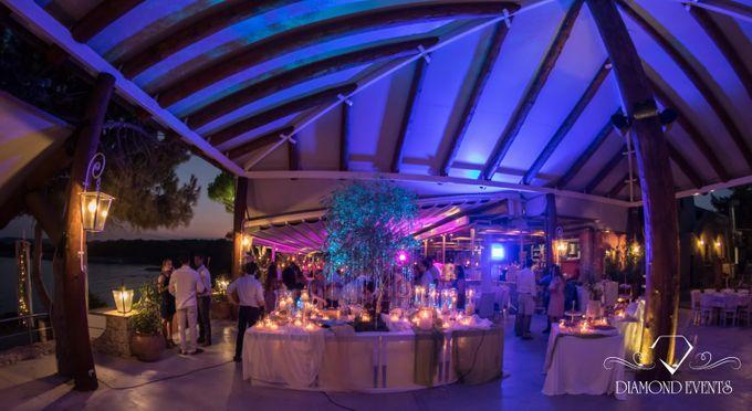 Romantic wedding in a vhapel by Diamond Events - 013