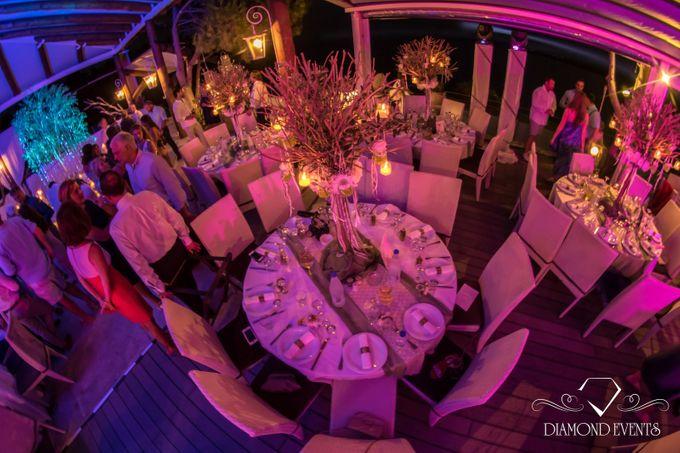 Romantic wedding in a vhapel by Diamond Events - 004