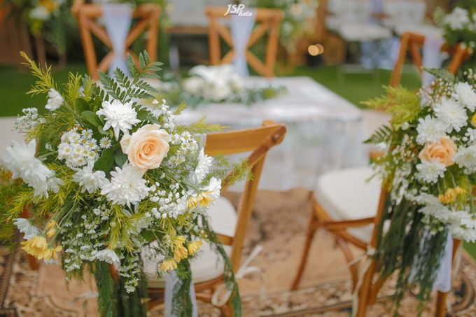 The Wedding of Dila & Imam di Villa Vii by Decor Everywhere - 022