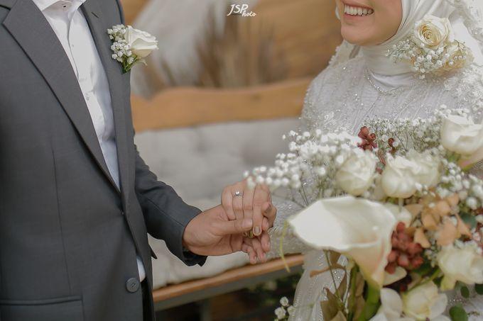 The Wedding of Dila & Imam di Villa Vii by Decor Everywhere - 046