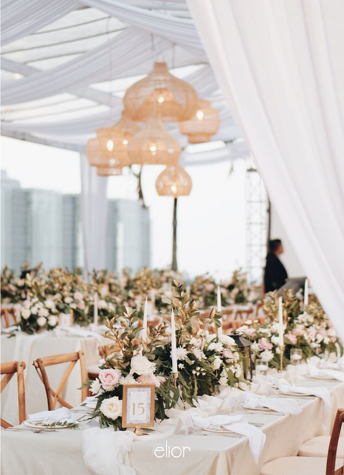 Simple and Elegant Wedding of Abraham and Carin by Elior Design - 010