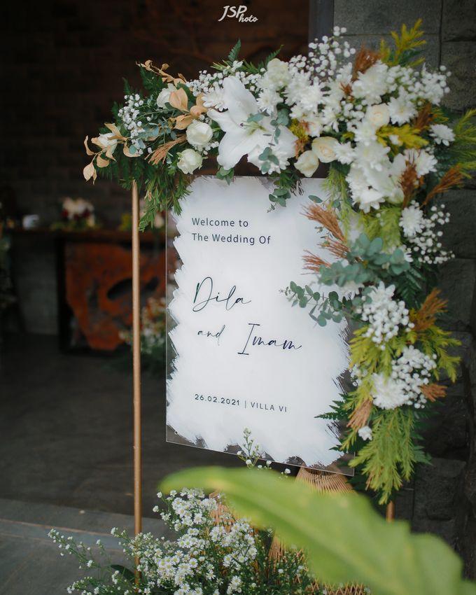 The Wedding of Dila & Imam di Villa Vii by Decor Everywhere - 006