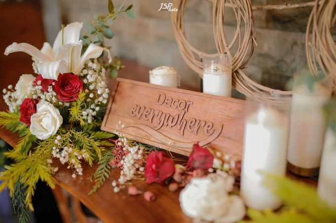 The Wedding of Dila & Imam di Villa Vii by Decor Everywhere - 012