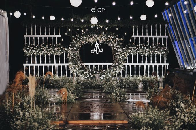 Simple and Elegant Wedding of Abraham and Carin by Elior Design - 005