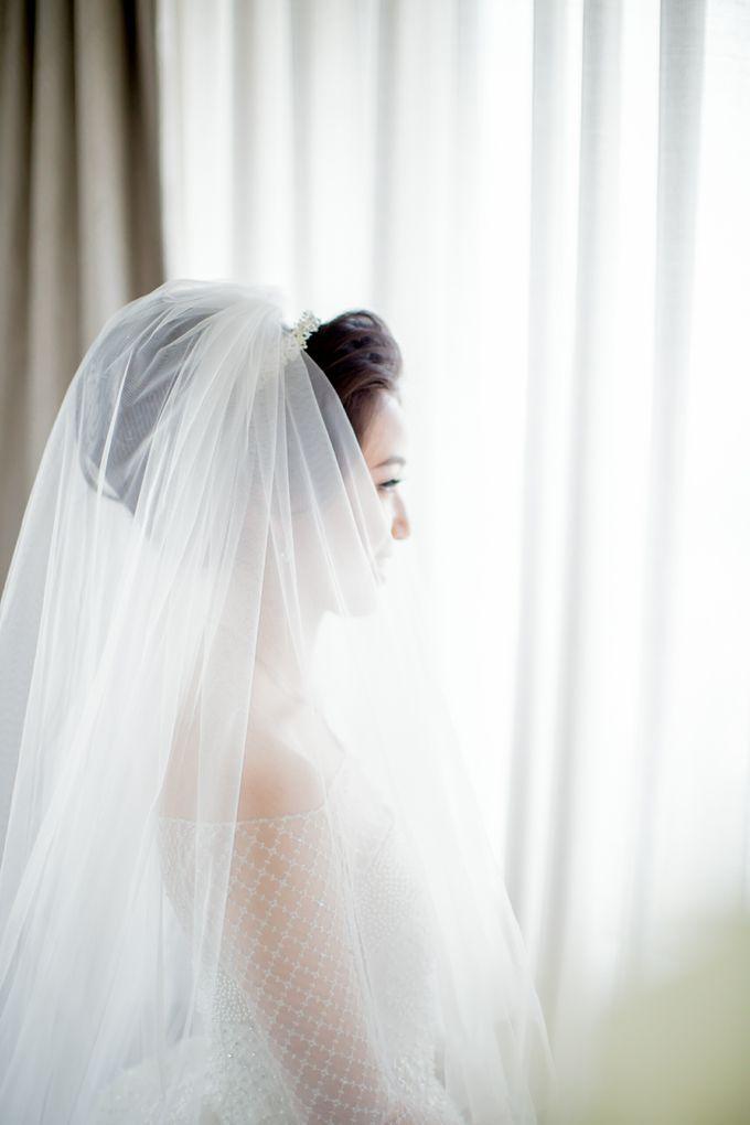 Grace Wedding. Natural & Korean Style Make Up by Marsia Yulia Signature. Natural and Korean Make Up Specialist. - 007