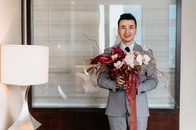 Wedding of Renno & Angeline by Mandarin Oriental, Jakarta - 009