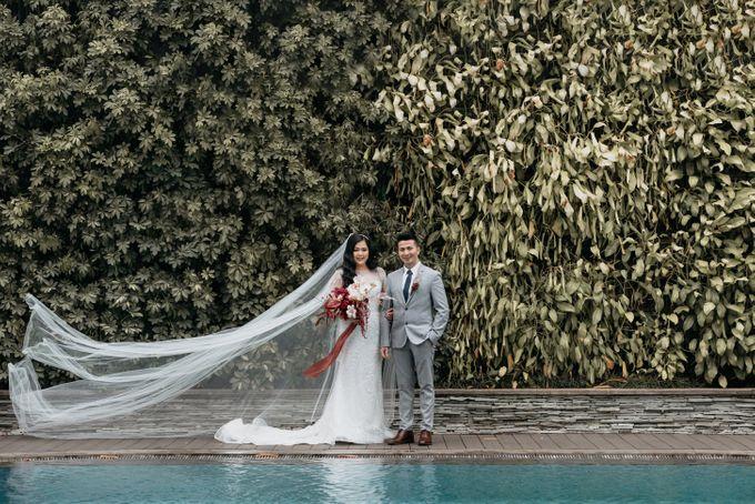 Wedding of Renno & Angeline by Mandarin Oriental, Jakarta - 010