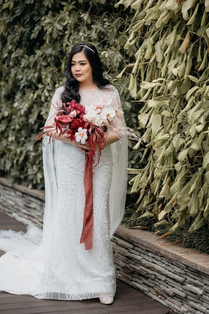 Wedding of Renno & Angeline by Mandarin Oriental, Jakarta - 011