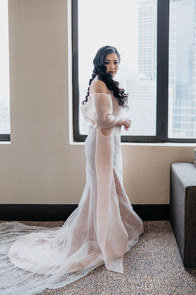 Wedding of Renno & Angeline by Mandarin Oriental, Jakarta - 017