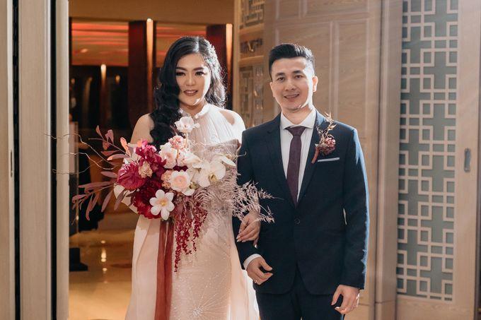 Wedding of Renno & Angeline by Mandarin Oriental, Jakarta - 018