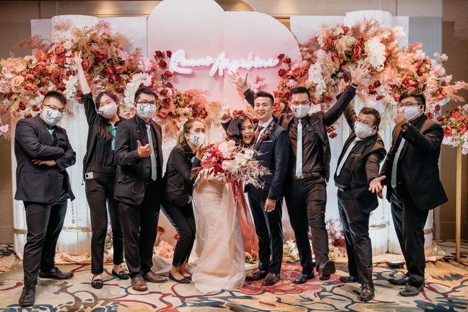 Wedding of Renno & Angeline by Mandarin Oriental, Jakarta - 021
