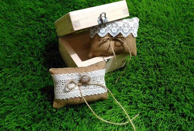 Wedding ring box by Hana Seserahan - 043