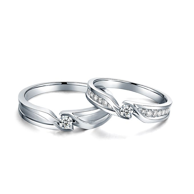 Tiaria Precious Moment Diamond Ring Perhiasan Cincin Pernikahan Emas dan Berlian by TIARIA - 001