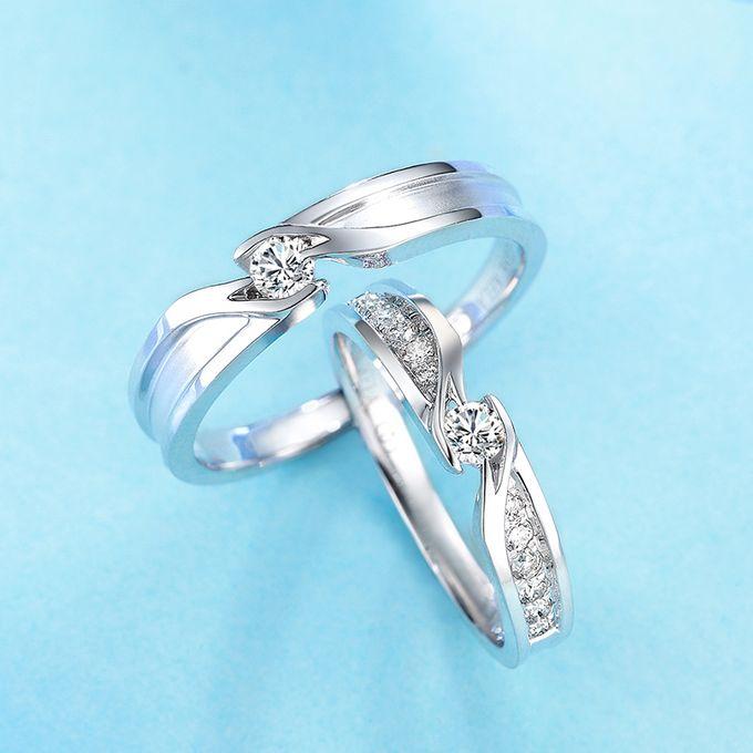 Tiaria Precious Moment Diamond Ring Perhiasan Cincin Pernikahan Emas dan Berlian by TIARIA - 003