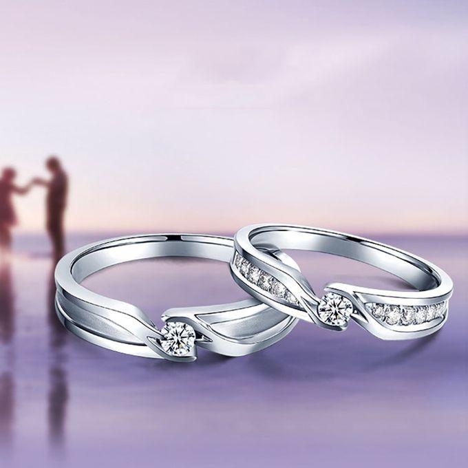Tiaria Precious Moment Diamond Ring Perhiasan Cincin Pernikahan Emas dan Berlian by TIARIA - 007