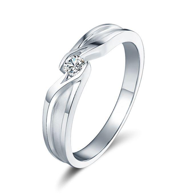 Tiaria Precious Moment Diamond Ring Perhiasan Cincin Pernikahan Emas dan Berlian by TIARIA - 002