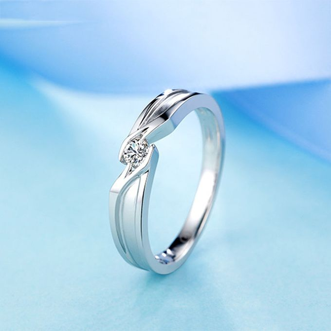 Tiaria Precious Moment Diamond Ring Perhiasan Cincin Pernikahan Emas dan Berlian by TIARIA - 004