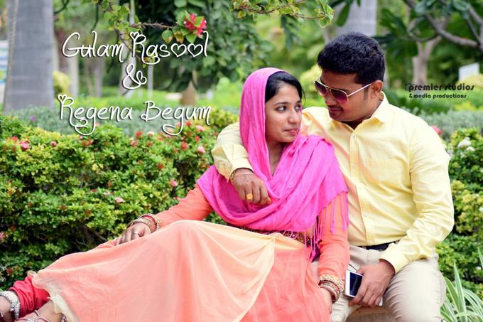 Gulam Rasool & Regina Begum   Nikkah  by Premier Studios & media productions - 001