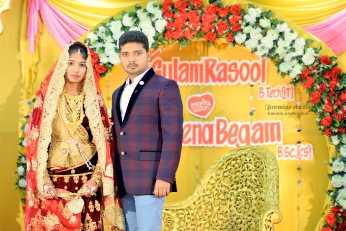 Gulam Rasool & Regina Begum   Nikkah  by Premier Studios & media productions - 002