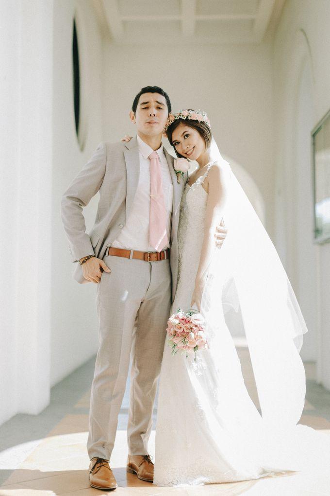 Luigi & Marika Blush Wedding by Marielle Penafiel Photography - 033