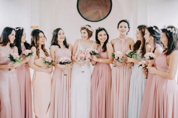 Luigi & Marika Blush Wedding by Marielle Penafiel Photography - 025