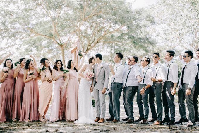 Luigi & Marika Blush Wedding by Marielle Penafiel Photography - 027