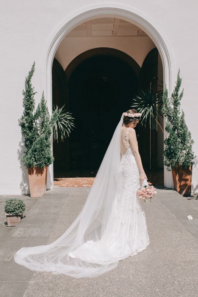 Luigi & Marika Blush Wedding by Marielle Penafiel Photography - 028