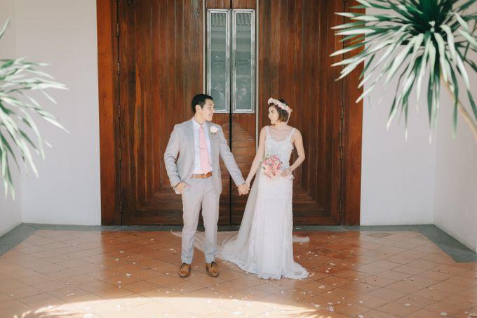 Luigi & Marika Blush Wedding by Marielle Penafiel Photography - 030