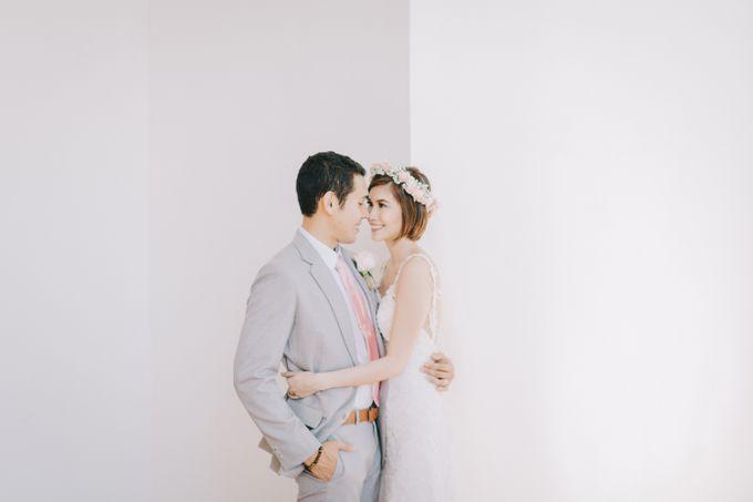 Luigi & Marika Blush Wedding by Marielle Penafiel Photography - 032
