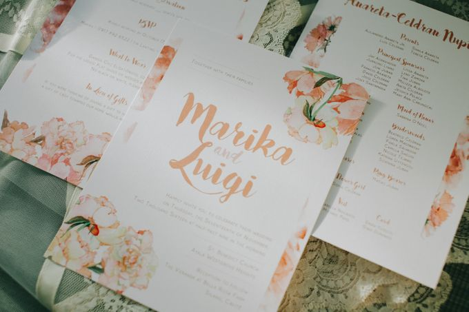 Luigi & Marika Blush Wedding by Marielle Penafiel Photography - 001