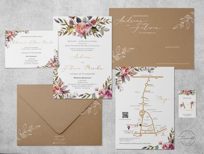 Spring Season by Trouvaille Invitation - 001