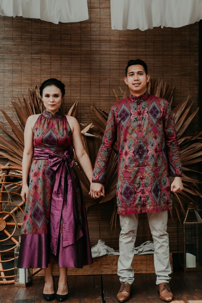 Arianti & David Engagement by SVARNA by IKAT Indonesia Didiet Maulana - 001