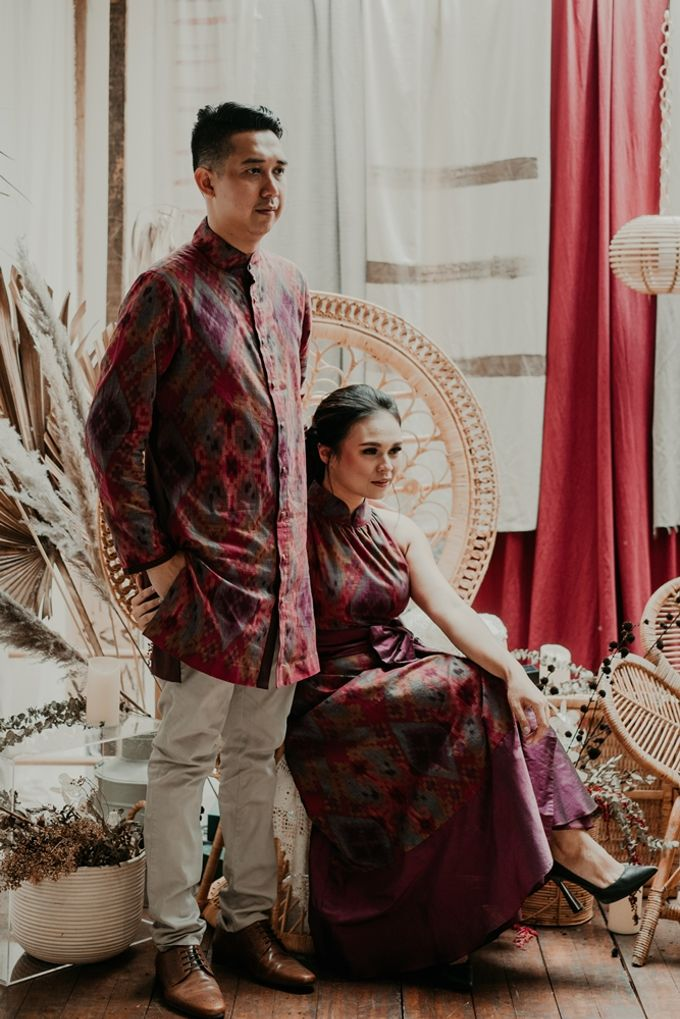 Arianti & David Engagement by SVARNA by IKAT Indonesia Didiet Maulana - 006