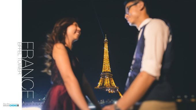 World Pre-Wedding Tour 2017 by Brian Chong Photography - 013