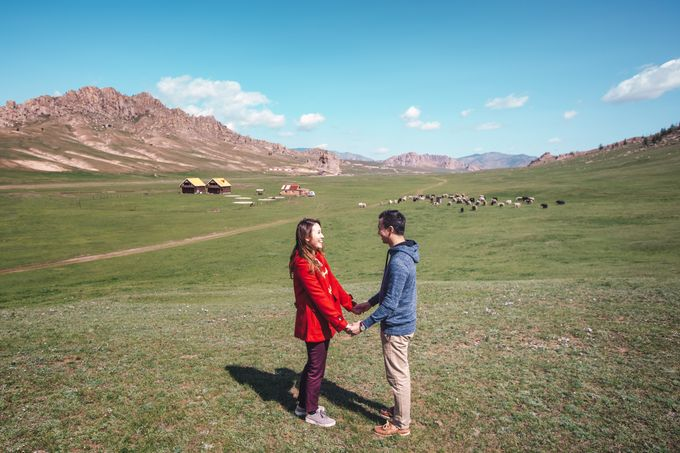 Mongolia Prewedding by Darren and Jade Photography - 002