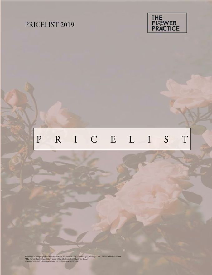 Pricelist 2019 by The Flower Practice - 001