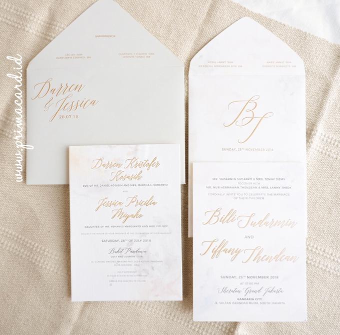 Wedding Invitation of Billi & Tiffany by Sheraton Grand Jakarta Gandaria City Hotel - 001