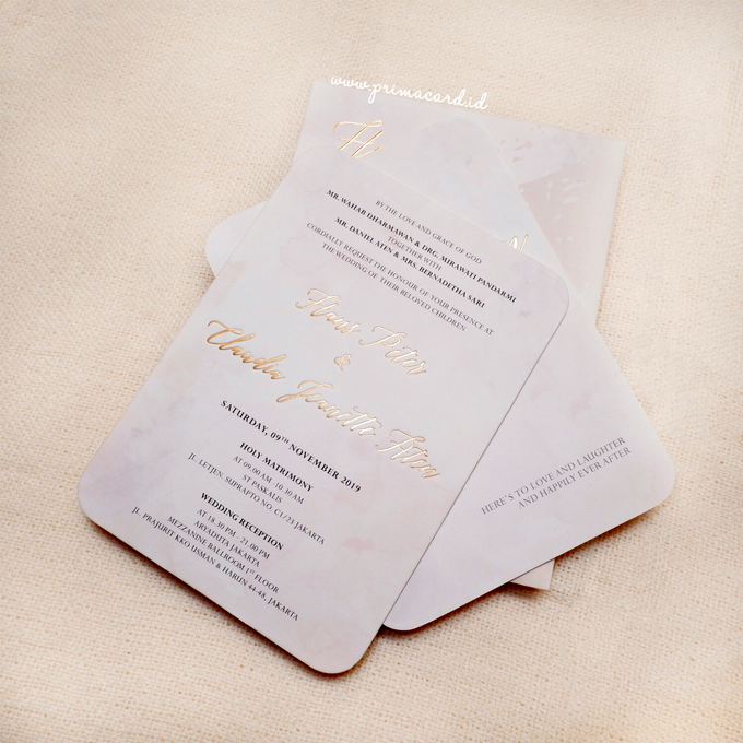Wedding Invitation of Hans & Jeanette by Prima Card - 007