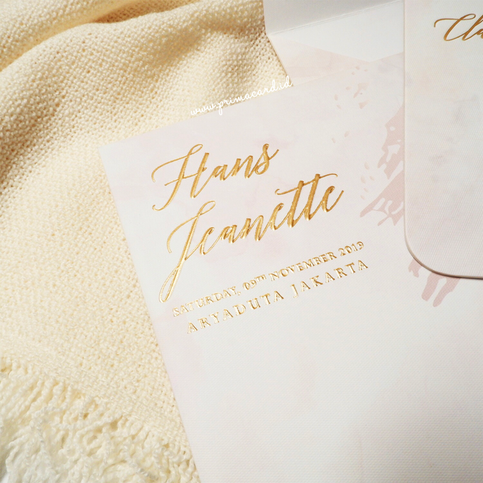 Wedding Invitation of Hans & Jeanette by Prima Card - 008