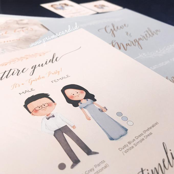 Wedding Invitation of Glen & Margaretha by Prima Card - 001