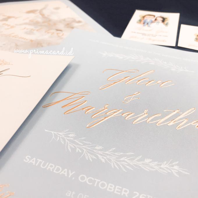 Wedding Invitation of Glen & Margaretha by Prima Card - 002