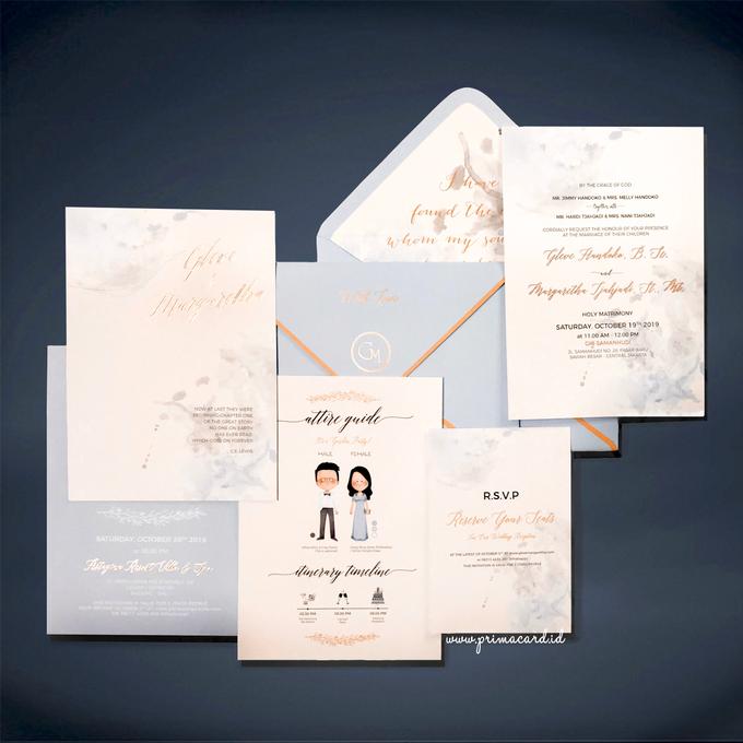 Wedding Invitation of Glen & Margaretha by Prima Card - 005