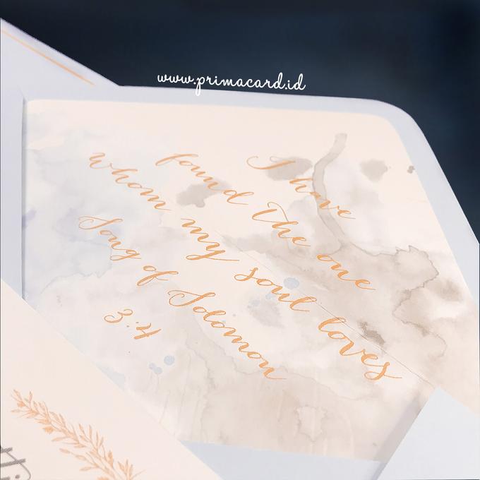 Wedding Invitation of Glen & Margaretha by Prima Card - 003