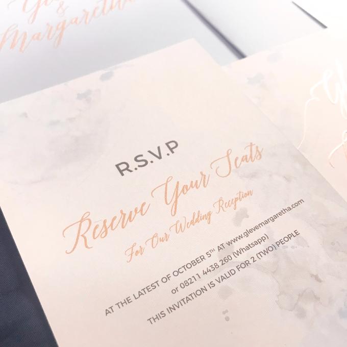 Wedding Invitation of Glen & Margaretha by Prima Card - 006