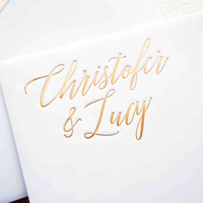 Wedding Invitation of Christofer & Lucy by Prima Card - 002